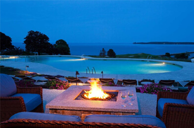 Evening at Samoset Resort