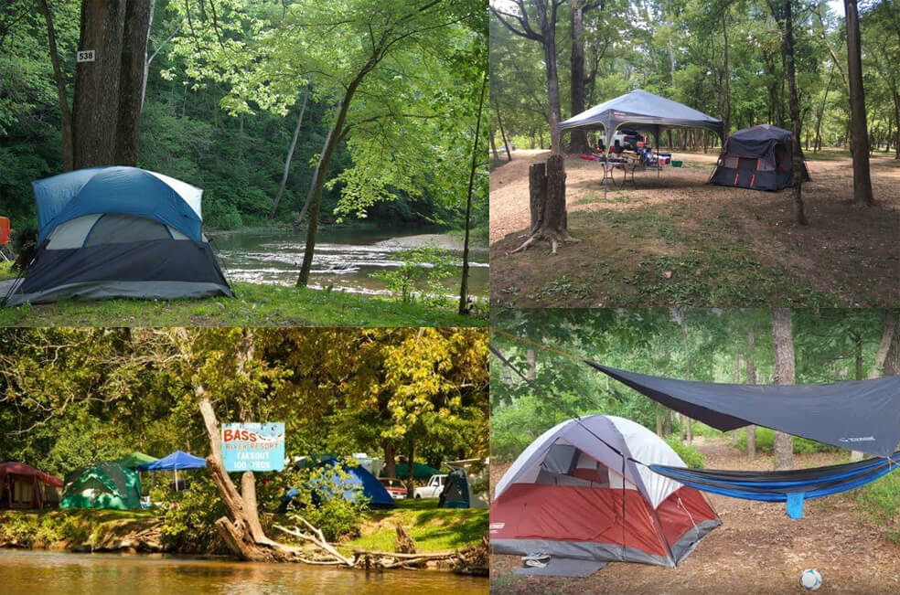 Camping at Bass River Resort