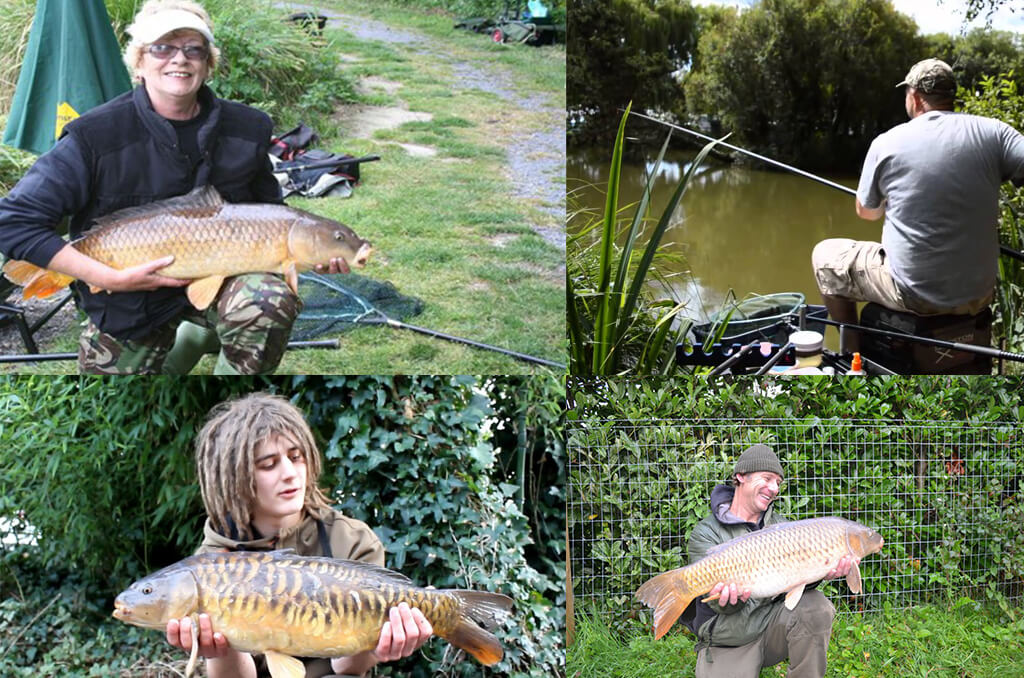 Fishing at Cofton Country Holidays